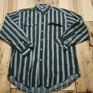 Vintage Tommy Hilfiger Striped Button Down